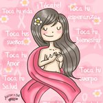 RT @TuAzucarySal: ¡Tócate las lolas! - Día mundial de la Lucha contra el Cáncer de Mama #DiaMundialCancerMama #Tócate http://t.co/27CcZM63gr