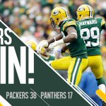 RT @packers: #Packers win 4th straight to improve to 5-2. #CARvsGB Recap: http://t.co/uIO8qAgpM0 http://t.co/yUDn2tuAUL