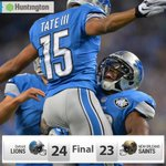 RT @Lions: Well, that was fun. #DefendTheDen http://t.co/OUdOHFX3Ph
