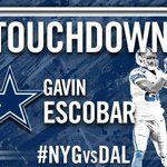 RT @dallascowboys: TOUCHDOWN @GavinEscobar89 !!! #NYGvsDAL http://t.co/3G0WoVtjnE