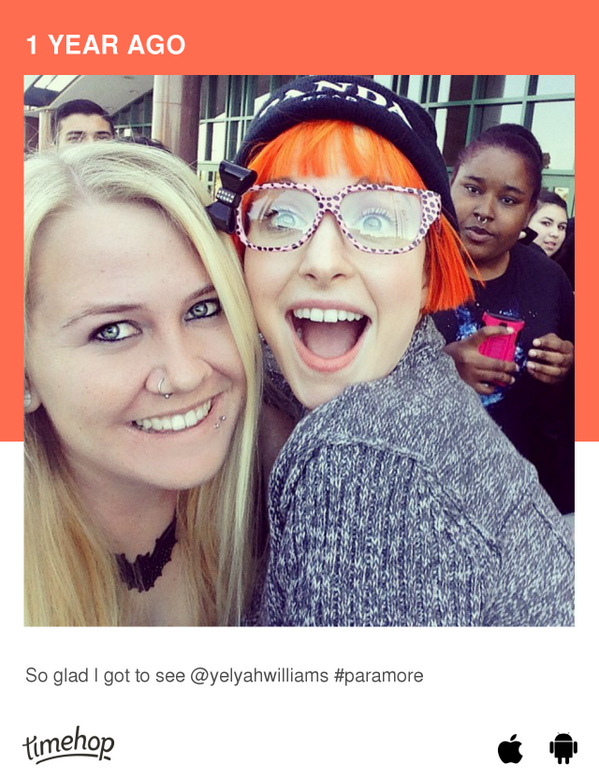 A year ago today was one of my favorite shows, ever @yelyahwilliams  http://t.co/sFMIU2bJap http://t.co/MKOJDxPaUr