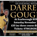 RT @mrdanielgregory: 4 tickets left for @DGoughie at @ScarboroughRUFC Pls RT @safc @ScarboroCricket @ScarboroCouncil @Scarborough_UK http://t.co/Ly7Lhu39el