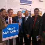 RT @joe_warmington: Turns out Steve has some political heavyweights endorsing as well. What a race in Mississauga http://t.co/Jk2hLsfFQo