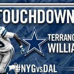 RT @dallascowboys: TOUCHDOWN @TerranceWill2!!!! #NYGvsDAL http://t.co/ml2OSvQwHo