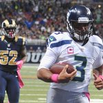 RT @ESPNNFL: Russell Wilson became the FIRST PLAYER in NFL history to throw for 300 yards and run for 100 yards in the same game. http://t.co/ESNIkHpqbS