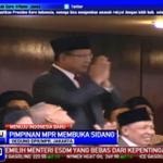 RT @Beritasatu: Kehadiran bapak @Prabowo08 mendapat sambutan hangat di sidang paripurna pelantikan #PresidenJokowi http://t.co/PBuEtqD4vy