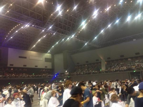 福岡のABC、出場者は全部門で1012名!  (ネイル部門省く) 今から審査のレディース部門だけで420名! http://t.co/1wrp8iYbgu