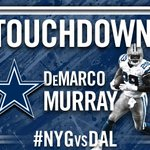 RT @dallascowboys: TOUCHDOWN @DeMarcoMurray!! #NYGvsDAL http://t.co/CLyblWD80A