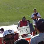 """@darrenrovell: Looks like Darnell Dockett came prepared to troll Oakland fans today http://t.co/CL3RThU3NE (via @theTYmartinez)"" Awesome"