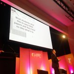 """...""""Dad, this is so cool, you 3D printed the save icon"""" says kid hiding 3.5"""" floppy disk #TelstraSummit @briansolis http://t.co/zCci8nxn6V"""