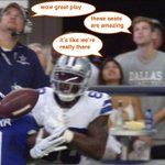RT @SBNation: Another look at the front row at the Cowboys game: http://t.co/o0sBzlmZzQ http://t.co/A9mzSxzSVX