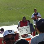 Cardinals DE Darnell Dockett had some fun trolling Raiders fans (photo @shanenfl) http://t.co/0NlfxbudVR http://t.co/0vLnEswVNh