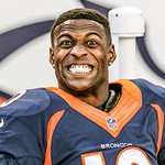 RT @Broncos: That moment when you nab your first TD of the year. #SFvsDEN #Broncos http://t.co/dyLpeoWN5f