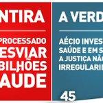 """RT @PSDB_Digital: Mentiras e mais Mentiras da """"Presidenta"""". #EmTodoBrasilAecio45 #DebatenaBand http://t.co/FFI3hJBlUG"""