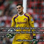RT @FourFourTweet: Sunderlands Vito Mannone has suggested that the club refund fans who were at the 8-0 thrashing to Southampton. http://t.co/T6HWVs7tft