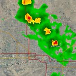 Isolated tstorms from #Scottsdale to #DeerValley, moving to the WSW. Expect brief heavy rain and strong winds. #azwx http://t.co/PsduyKIoiq