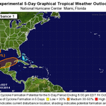 RT @scejas: Broad area of low pressure in the Bay of Campeche has a 30% chance of developing over the next 5 days. http://t.co/I3XUBgPbIx
