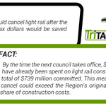 RT @TriTAG: Mythbusting the election #1: Can we cancel LRT and still save money? #wrvotes #wrlrt http://t.co/1ODCz5TYlm http://t.co/GyMU9nqlJ3
