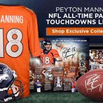 Peyton Manning is a #FAexclusive athlete. Shop his exclusive memorabilia collection -> http://t.co/7mQnoJ7uDE. http://t.co/J3vjggw7tf