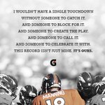 In football, every individual record is a team effort. #Peyton509 #WinFromWithin http://t.co/ebKYYstXTX