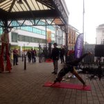 Enjoyed some Brighton Fringe entertainment at the station on the way to work http://t.co/JDzZhftzg6