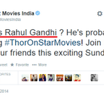 #HellYeah Even @StarMoviesIndia could not resist trolling #Pappu http://t.co/wA5t1K8YvF
