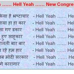 RT @Anurag4Bharat: See this ... You are going to love this new Congress Anthem --> #HellYeah ... Sing-along...#HellYeah @Kesar_ http://t.co/Zv0fnA5DzB
