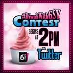#Contest : We have an awesome contest lined up for you at 2PM today! Participate & win BIG. #DiwaliWith6SY http://t.co/ckyjm5GgCy