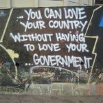 """""""You can love your country without having to love your government"""" cc @GeorgeNyongesa #MashujaaDay http://t.co/2Q6xQ4bDPb"""