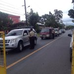 SBMA authorities now on red alert, set up checkpoints and barricades near USS Peleliu http://t.co/UDpiht7oeH
