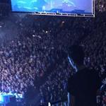 RT @TheRoyWilkins: .@bastilledan taking in @PearlJam next door at @XcelEnergyCtr after an incredible show! #BastilleAtTheRoy #PJXEC http://t.co/u7RENlabvH