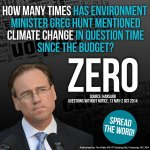 """Will today be the day the Assistant Minister for Resources says the words """"Climate Change"""" in #qt? http://t.co/cojWDZug5e"""