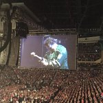 Eddie Vedder rocking his @mnwild jersey! #PJXEC http://t.co/HjqsXLUQMj