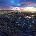 #AZ365: Sunset views from Camelback Mountain http://t.co/i1ATtK0o28 http://t.co/mC8l4hnnM6