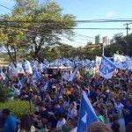 Médicos baianos tomaram conta da Barra, em Salvador, com a #Caminhada45 em apoio a @AecioNeves! #MédicosComAécio http://t.co/gazISVRUrr