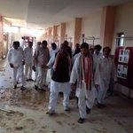 RT @INCIndia: Congress VP Rahul Gandhi visiting the cyclone-hit Rajiv Gandhi Smriti Bhawan in Vishakhapatnam, right now http://t.co/S01EkNC9Q0