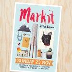 Youre invited! @MarkitFedSquare is on Sunday 23 Nov! #markitfedsquare #melbournemarkets #designers #melbourne http://t.co/OR8ENjO5QB