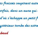 RT @PatouStVictor: 20 octobre 1854, naissance de #ArthurRimbaud Une brève période décriture dans sa vie, mais qui marquera le monde. http://t.co/BrAzOFNCSe