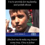 RT @Xani87: In PTI Sarghoda Jalsa, SAMAA TV interviewed this kid, who has a dream to go to school. #HelpfindAdeel http://t.co/LcuXo1puU3