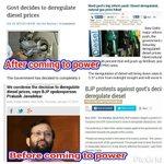 Breaking news.... BJP will condemn the decision deregulate diesel price against Modi gov http://t.co/e0nB0xFQ1x