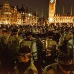 The battle for democracy.. Parliament Sq @GEMWINTER @NickyAACampbell #occupydemocracy media blackout http://t.co/96hzklMTvU