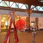 Brighton Fringe is taking over @brightonstation! #Brighton http://t.co/Jnh4VjX08c