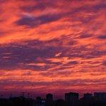 Небо утром было потрясающим #Ростов http://t.co/vqljYUPWRB