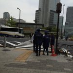 A lot of things are going on inside this building (PM Abe office) today http://t.co/48mMqmtgjL http://t.co/8fBRWXbmbt