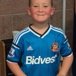 @safcmuseum @SAFCsource @SunderlandAFC @SAFCNews - Happy 7th birthday to our lil mackem! Have a fab day Vaughan xxx http://t.co/GtdcXOjmPU