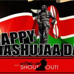 RT @MrPmoll: Happy #MashujaaDay from @SUSOyouth @HeshdeSilva @paulakahumbu @JulieGichuru @RaphaelObonyo @ste_kenya @NickNdeda :D http://t.co/fOCsJSQyCW