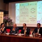 RT @casadecolon: Inauguramos el XXI Coloquio de #HistoriaCanarioAmericana con @JMBravodeLaguna y ponencia de Manuel Lobo #GranCanaria http://t.co/ju5fz4DAOu