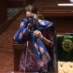 Division of Sindh: @sharmilafaruqi makes tearful speech in Sindh Assembly today. http://t.co/MldPEM0gJD