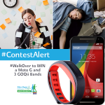 RT @MaxBupa: Were giving away a MotoG & 3 @GOQiiLife bands today! Get us 100 RTs to #WalkOver & unveil the #contest to you! http://t.co/4zDeE1W4Pl