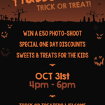 Be sure to join us for our #halloween #event at our #bristol studio. Oct 31st 4pm - 6pm. #Trickortreat welcome: http://t.co/MsFMTNfCzT